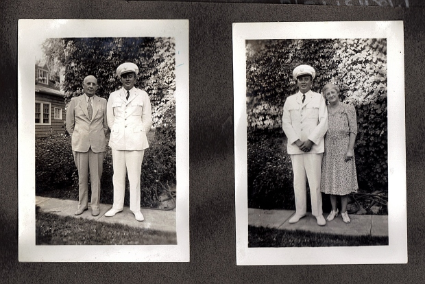 Here are two photos of Robert W. Kelley in his uniform