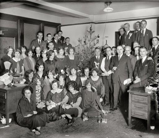 G.E. Christmas Party, 1925