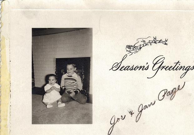 Joe & Jan Page, 1951