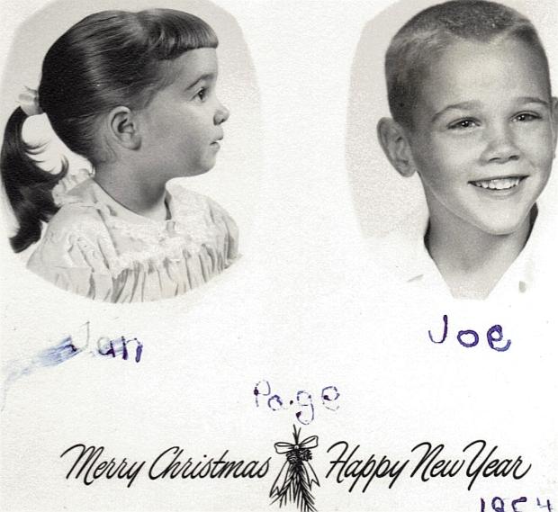1954, Joe & Jan Page