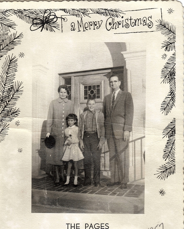 The Page Family, 1957