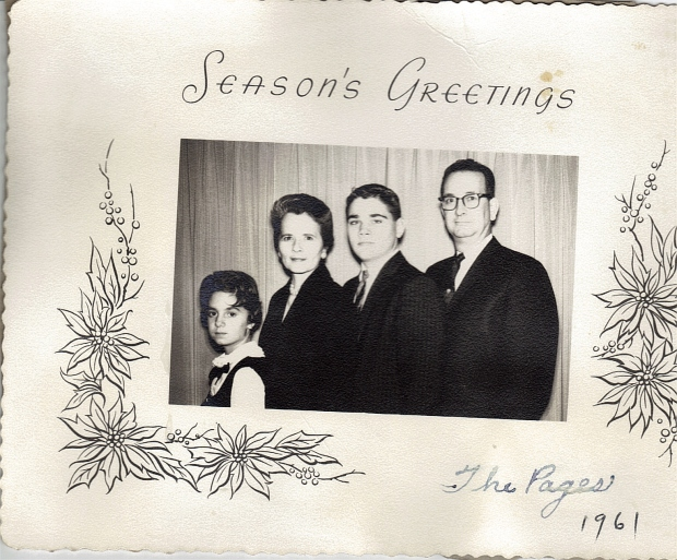 Page Family, 1961
