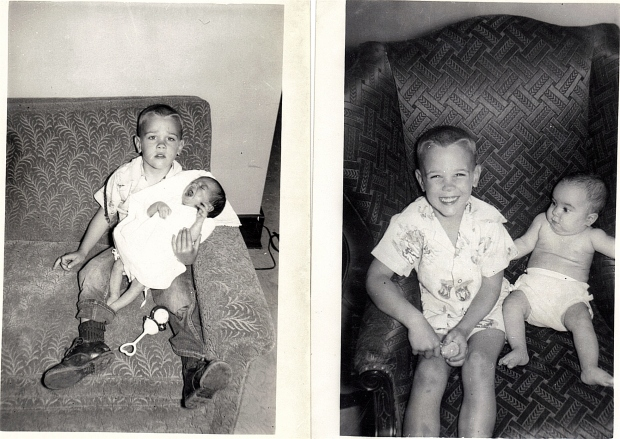 My big brother and me.