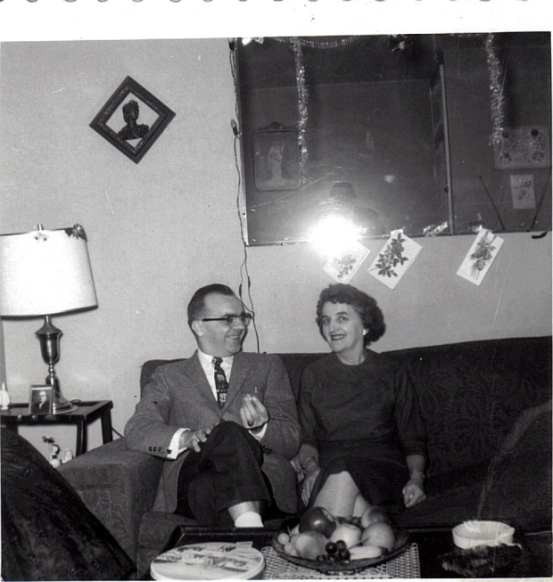 January 1960, Couple on Couch