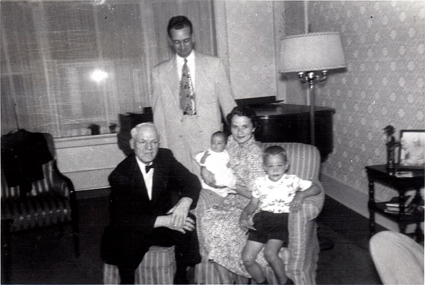 Dr. Jackson with Page Family