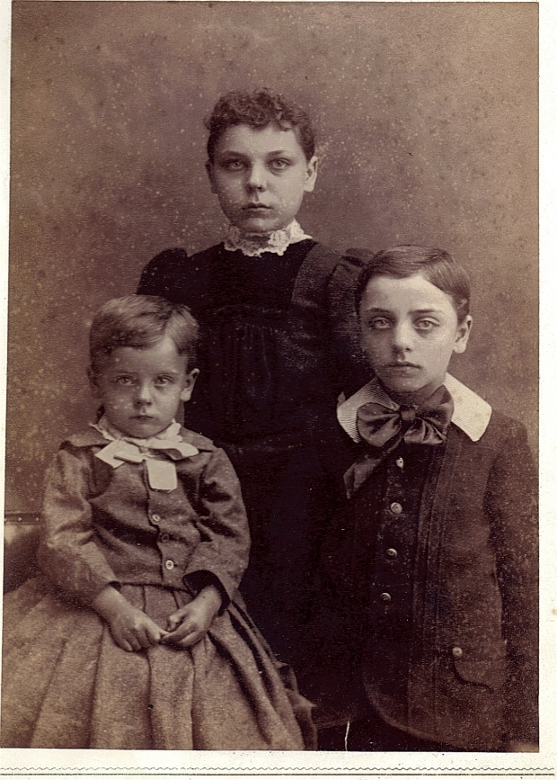 Arthur, Dora and Clarence Stilgenbaurer