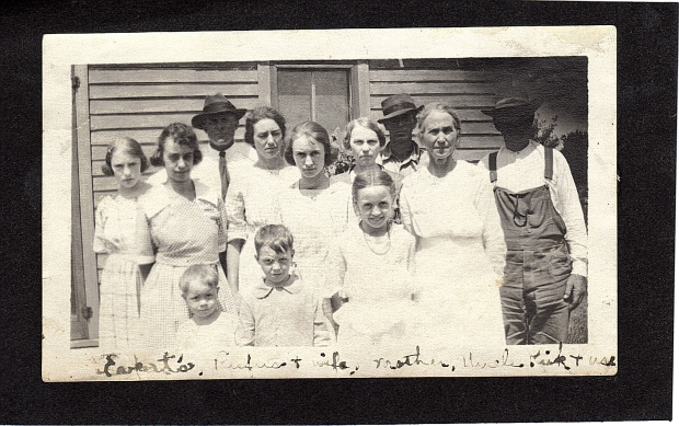 Everts Family, 1921