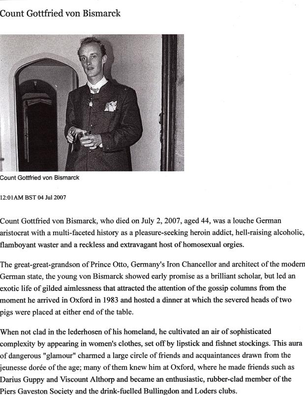 Court Gottfried von Bismarck