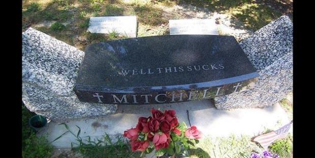 Mitchell Gravestone
